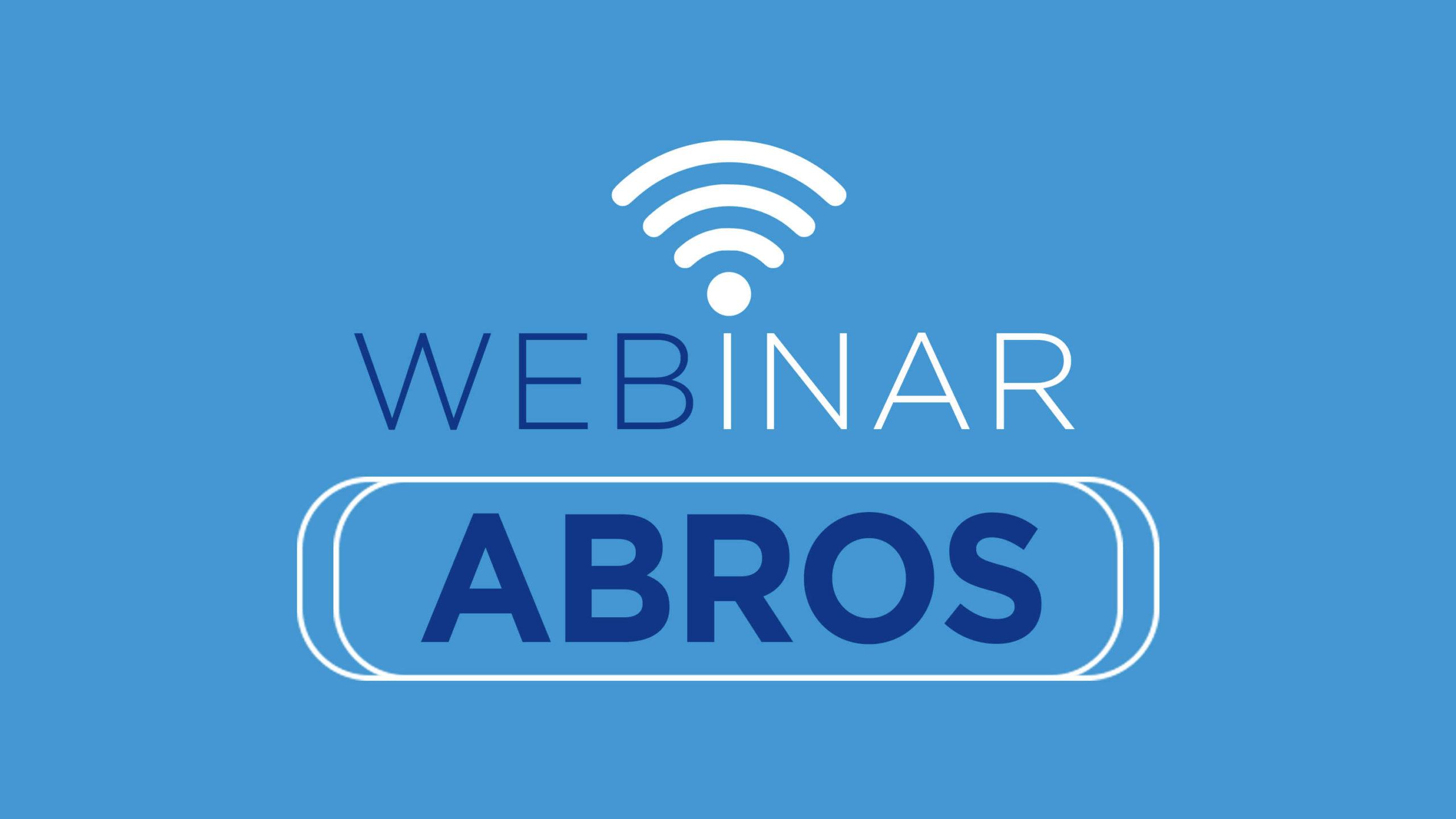 Webinar ABROS – 29 de abril